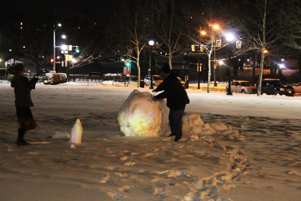 snowball man