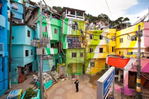 Favelas-Painting